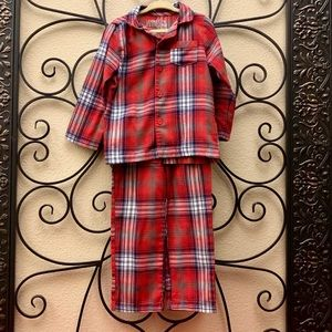 Cuddl Duds Boys' toddler flannel (2) pc pajama set